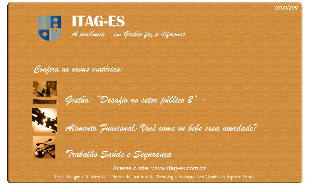 Publicidade - 07/01/2011